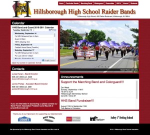 Hillsborough High School Raider Bands