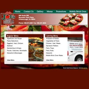 Joes Family Pizzeria & Restaurant